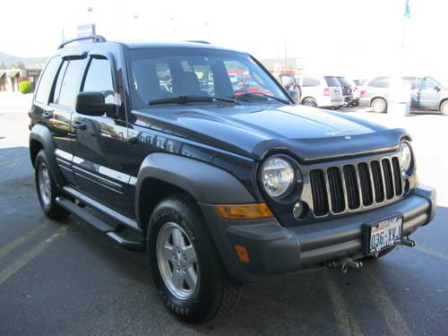 2006 jeep liberty suv sport for sale in spokane. Black Bedroom Furniture Sets. Home Design Ideas