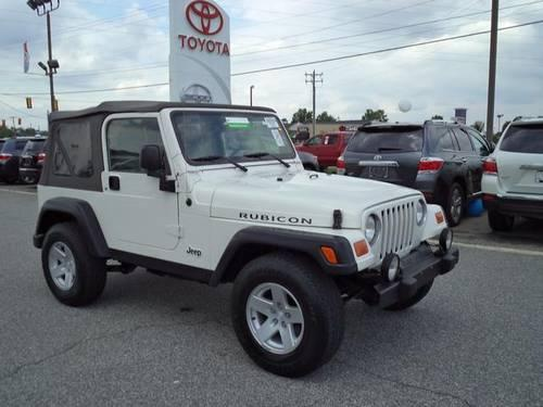 2006 jeep wrangler 2d sport utility rubicon for sale in anderson south carolina classified. Black Bedroom Furniture Sets. Home Design Ideas