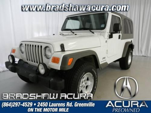 2006 Jeep Wrangler 2D Sport Utility Unlimited