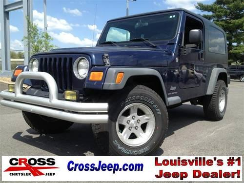 2006 jeep wrangler 2d sport utility unlimited for sale in louisville kentucky classified. Black Bedroom Furniture Sets. Home Design Ideas