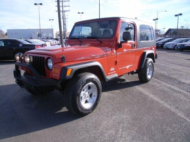 2006 Jeep Wrangler 2dr 4x4 LWB Unlimited Unlimited