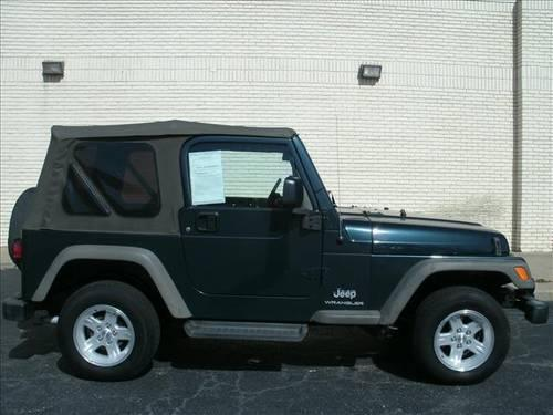 2006 jeep wrangler 2dr se for sale in lexington north carolina classified. Black Bedroom Furniture Sets. Home Design Ideas
