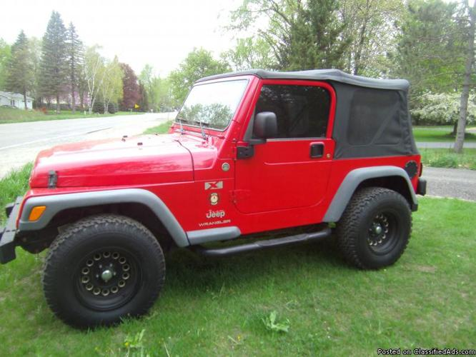 2006 jeep wrangler for sale in dexter township michigan classified. Black Bedroom Furniture Sets. Home Design Ideas
