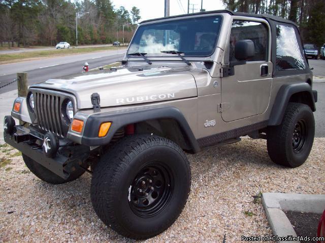 2006 jeep wrangler rubicon for sale in virginia beach virginia classified. Black Bedroom Furniture Sets. Home Design Ideas