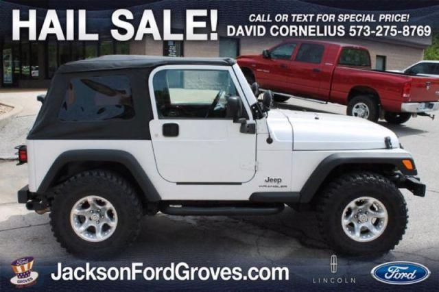 Ford Groves Jackson Mo >> 2006 Jeep Wrangler SE for Sale in Jackson, Missouri Classified | AmericanListed.com
