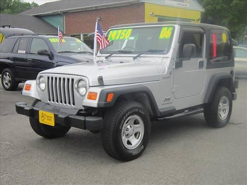 2006 jeep wrangler sport right hand drive for sale in rochester new hampshire classified. Black Bedroom Furniture Sets. Home Design Ideas