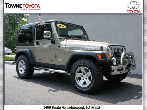 2006 jeep wrangler suv 4x4 rubicon for sale in ledgewood new jersey classified. Black Bedroom Furniture Sets. Home Design Ideas