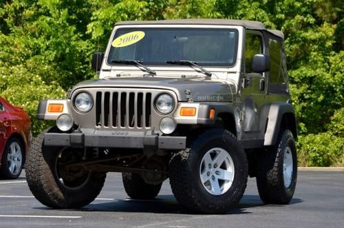 2006 jeep wrangler suv rubicon for sale in morehead city. Black Bedroom Furniture Sets. Home Design Ideas