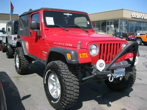 2006 jeep wrangler suv unlimited rubicon for sale in spokane washington classified. Black Bedroom Furniture Sets. Home Design Ideas
