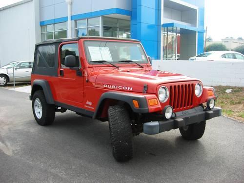 2006 jeep wrangler unlimited rubicon 4 wheel drive for sale in center georgia classified. Black Bedroom Furniture Sets. Home Design Ideas