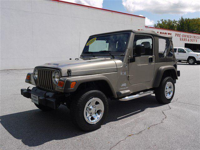 2006 jeep wrangler x for sale in easley south carolina classified. Black Bedroom Furniture Sets. Home Design Ideas