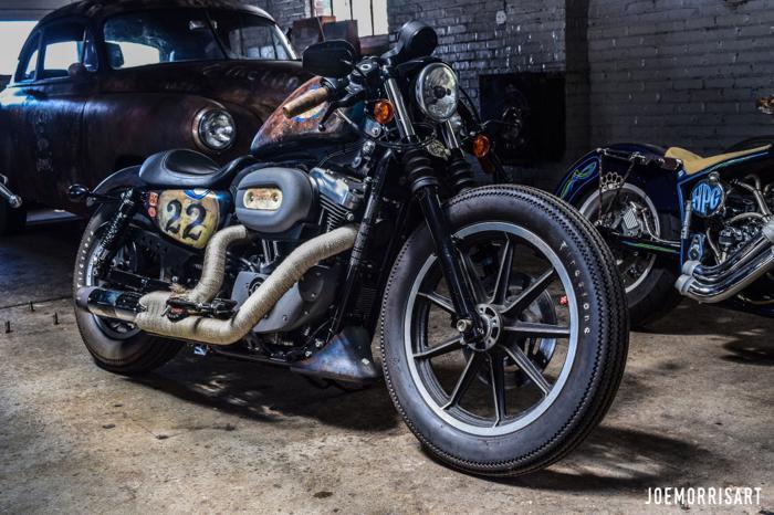 2006 JMArt Custom Harley Davidson Cafe Racer