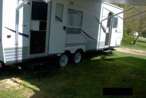 2006 keystone hornet 33flds travel trailer in garner nc for sale in garner north carolina. Black Bedroom Furniture Sets. Home Design Ideas