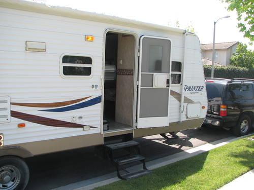2006 keystone sprinter 32ft travel trailers series m 303 for Sofa bed 92870