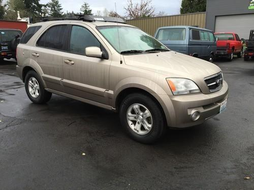 2006 kia sorento ex 4wd moon leather locally owned for sale in gresham oregon classified. Black Bedroom Furniture Sets. Home Design Ideas