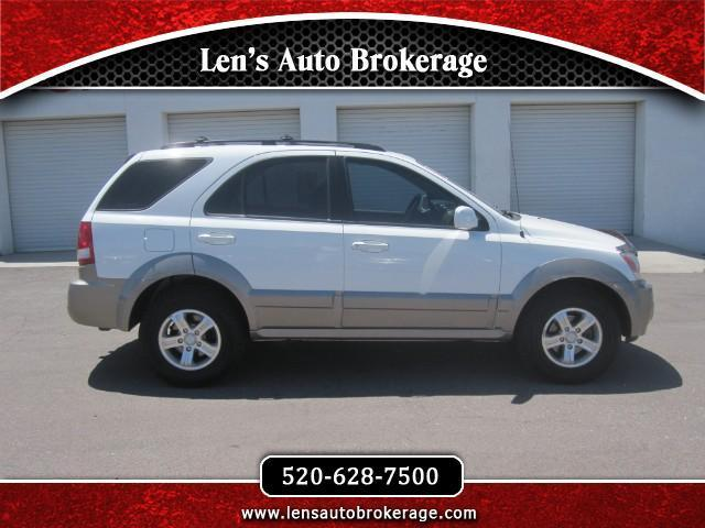 2006 kia sorento lx lx 4dr suv w manual for sale in tucson. Black Bedroom Furniture Sets. Home Design Ideas
