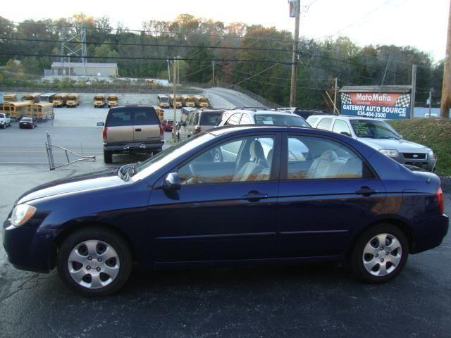 2006 Kia Spectra Lx Manual Transmission 4dr Great Mpg  For