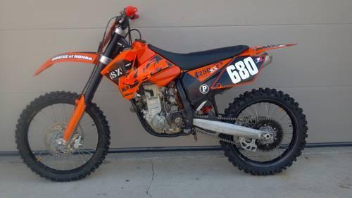 2006 ktm 250 sx f motocross bike for sale in fort wayne indiana classified. Black Bedroom Furniture Sets. Home Design Ideas