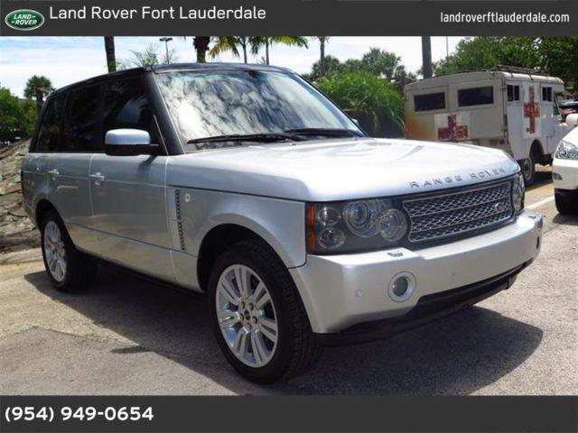 2006 land rover range rover for sale in pompano beach florida classified. Black Bedroom Furniture Sets. Home Design Ideas