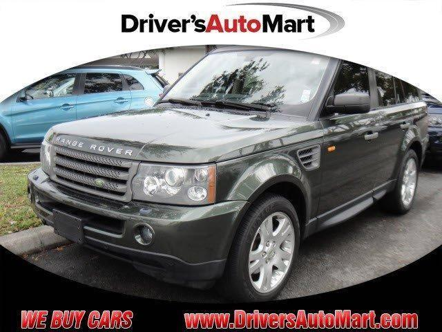 2006 land rover range rover sport hse for sale in cooper city florida classified. Black Bedroom Furniture Sets. Home Design Ideas