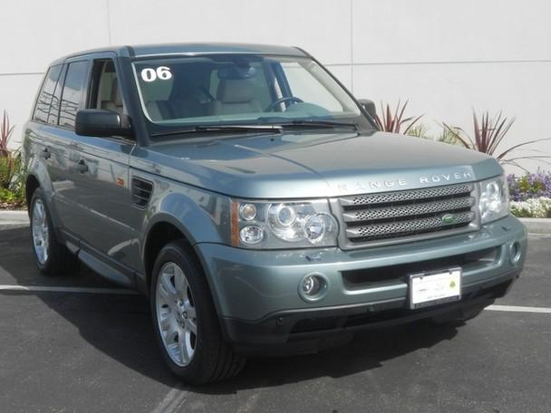 2006 land rover range rover sport hse for sale in san diego california classified. Black Bedroom Furniture Sets. Home Design Ideas