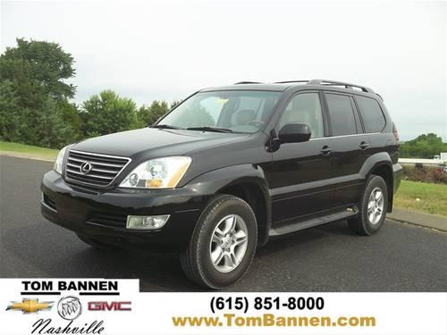 2006 lexus gx 470 suv 4wd w sunroof for sale in am qui tennessee classified. Black Bedroom Furniture Sets. Home Design Ideas