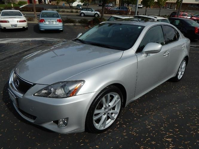 2006 lexus is 250 4dr sport sdn 1st owner showroom condition for sale in fair oaks. Black Bedroom Furniture Sets. Home Design Ideas