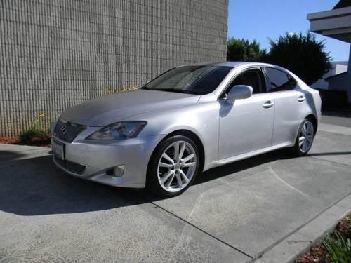 2006 lexus is 250 for sale in artesia california. Black Bedroom Furniture Sets. Home Design Ideas