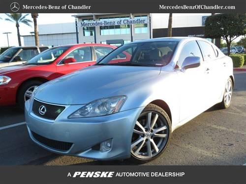 2006 lexus is 250 sedan 4dr sport sdn auto sedan for sale in chandler arizona classified. Black Bedroom Furniture Sets. Home Design Ideas