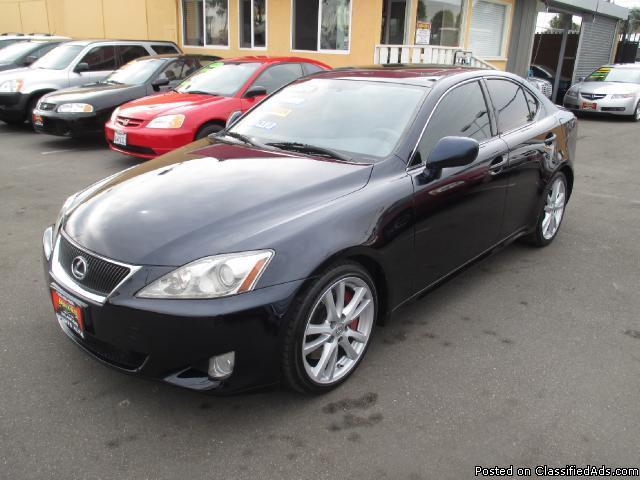 2006 lexus is 350 auto for sale in inglewood california classified. Black Bedroom Furniture Sets. Home Design Ideas