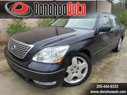 2006 Lexus LS 430 Bargain Hunter, Navigation, Sunroof,