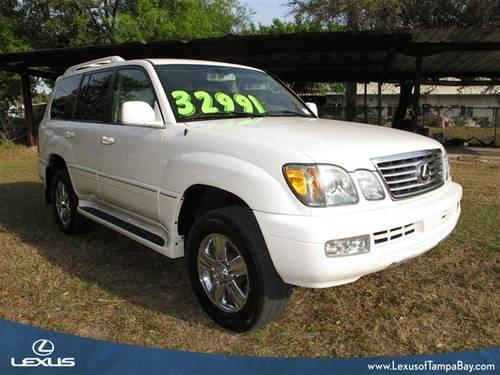 2006 lexus lx 470 for sale in tampa florida classified. Black Bedroom Furniture Sets. Home Design Ideas