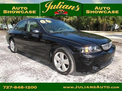 2006 lincoln ls four door sedan 4dr sdn v8 sport for sale in new port richey florida classified. Black Bedroom Furniture Sets. Home Design Ideas