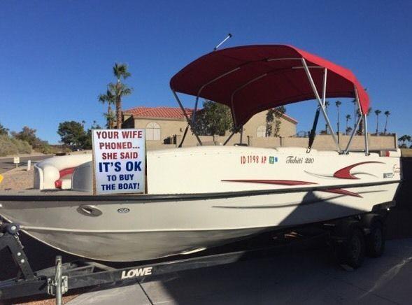 2006 Lowe Deck Boat 22 For Sale In Havasu City Arizona