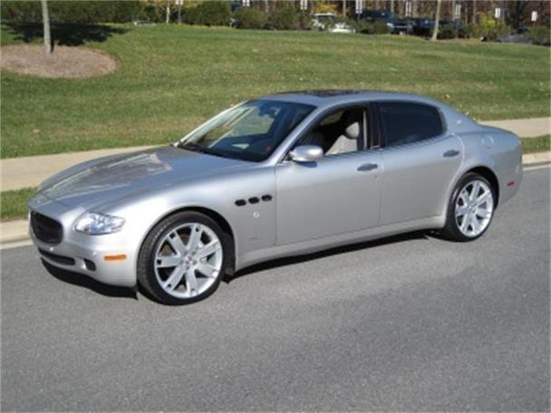 2006 maserati quattroporte for sale in rockville maryland classified. Black Bedroom Furniture Sets. Home Design Ideas