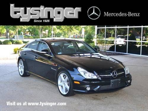 2006 mercedes benz cls class 4d coupe cls55 amg for sale for Tysinger motors used cars