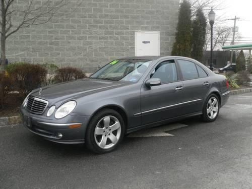2006 mercedes benz e class sedan e500 for sale in saddle for Mercedes benz for sale nj