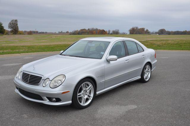 2006 mercedes benz e55 amg nice for sale in franklin kentucky classified. Black Bedroom Furniture Sets. Home Design Ideas