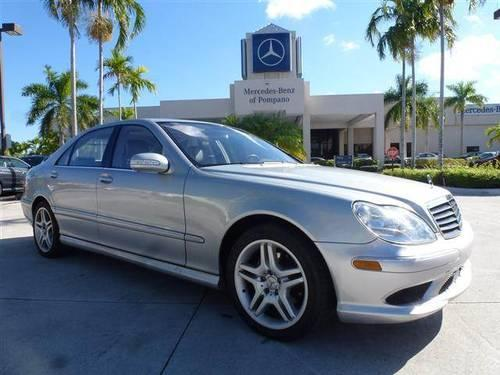 2006 mercedes benz s class for sale in pompano beach for Mercedes benz pompano beach florida