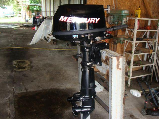 2006 mercury 6hp 4 stroke outboard motor for sale in for Boat motors for sale in florida