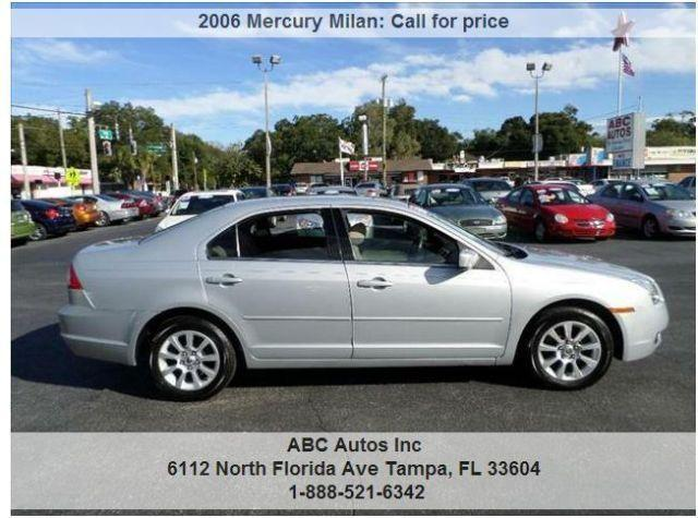 2006 mercury milan v6 abc autos buy here pay here for sale in tampa florida classified. Black Bedroom Furniture Sets. Home Design Ideas