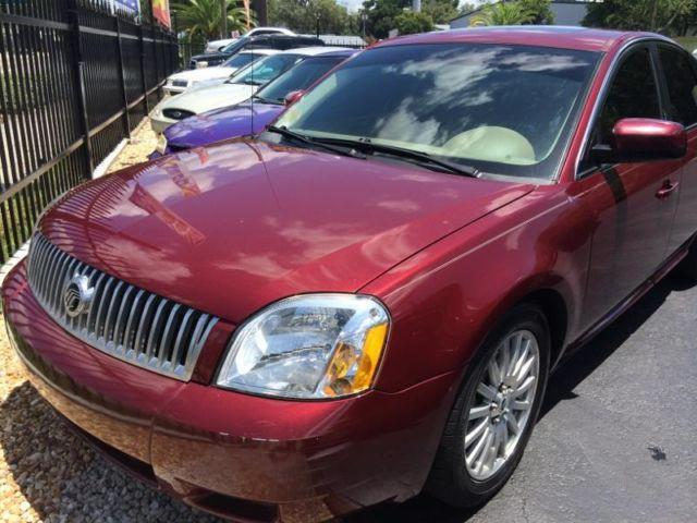2006 Mercury Montego Quot 6 Cylinder Leather Automatic Trans