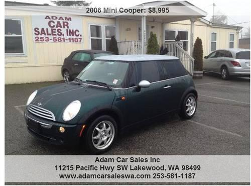 2006 mini cooper manual transmission adam car sales. Black Bedroom Furniture Sets. Home Design Ideas
