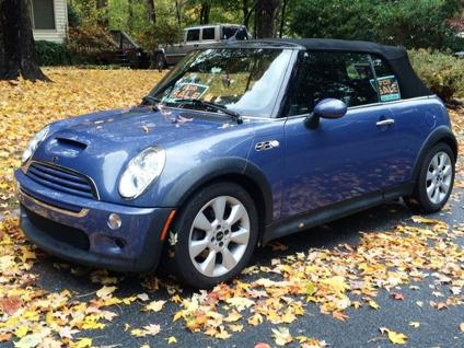 2006 mini cooper s convertible 1 6l supercharged engine 6 speed rh asheboro americanlisted com Mini Cooper Convertible Top Problems Mini Cooper S Roadster