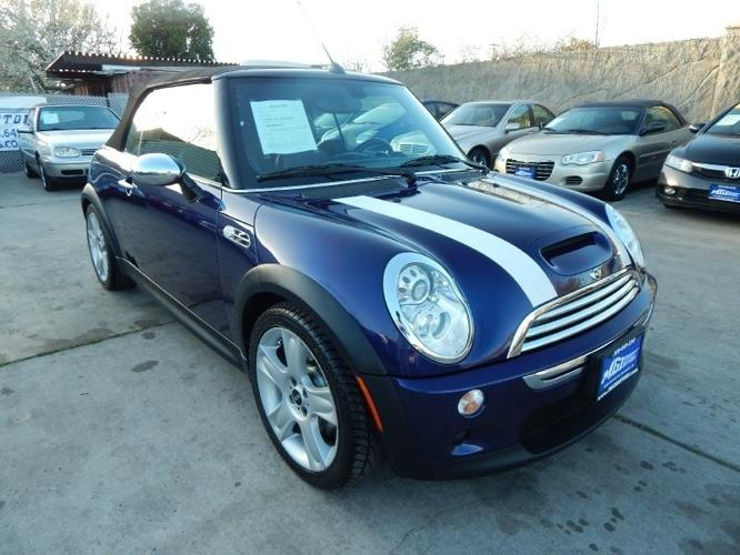 2006 mini cooper s convertible for sale in sacramento. Black Bedroom Furniture Sets. Home Design Ideas