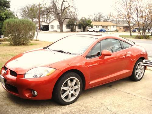 2006 Mitsubishi Eclipse Gt V6 Sunset Pearl For Sale In Copperas