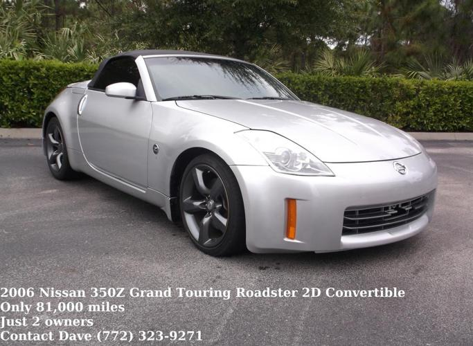 2006 nissan 350z grand touring roadster convertible for sale in fort pierce florida classified. Black Bedroom Furniture Sets. Home Design Ideas