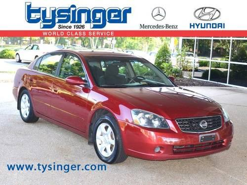 2006 nissan altima 4d sedan for sale in hampton virginia Tysinger motor company