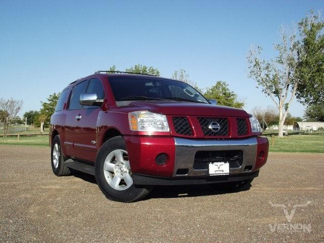 2006 nissan armada se for sale in vernon texas classified. Black Bedroom Furniture Sets. Home Design Ideas