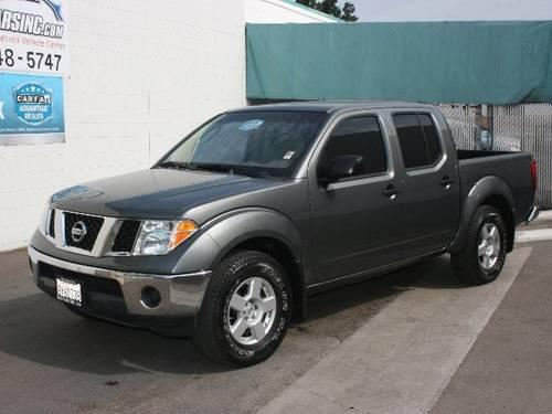 2006 nissan frontier crew cab pickup se pickup 4d 5 ft for sale in san diego california. Black Bedroom Furniture Sets. Home Design Ideas
